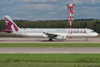 A7-AIA - Qatar Airways Airbus A321