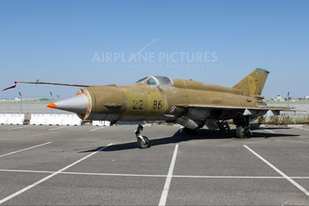 22+86 - Germany - Air Force Mikoyan-Gurevich MiG-21MF