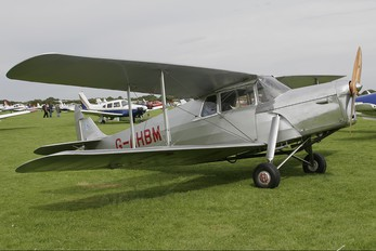 G-AHBM - Private de Havilland DH. 87 Hornet Moth