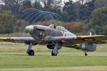 G-HHII - Private Hawker Hurricane IIB