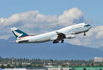 B-HOV - Cathay Pacific Boeing 747-400