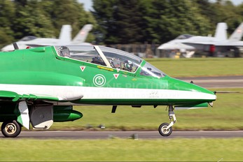 8806 - Saudi Arabia - Air Force: Saudi Hawks British Aerospace Hawk 65 / 65A