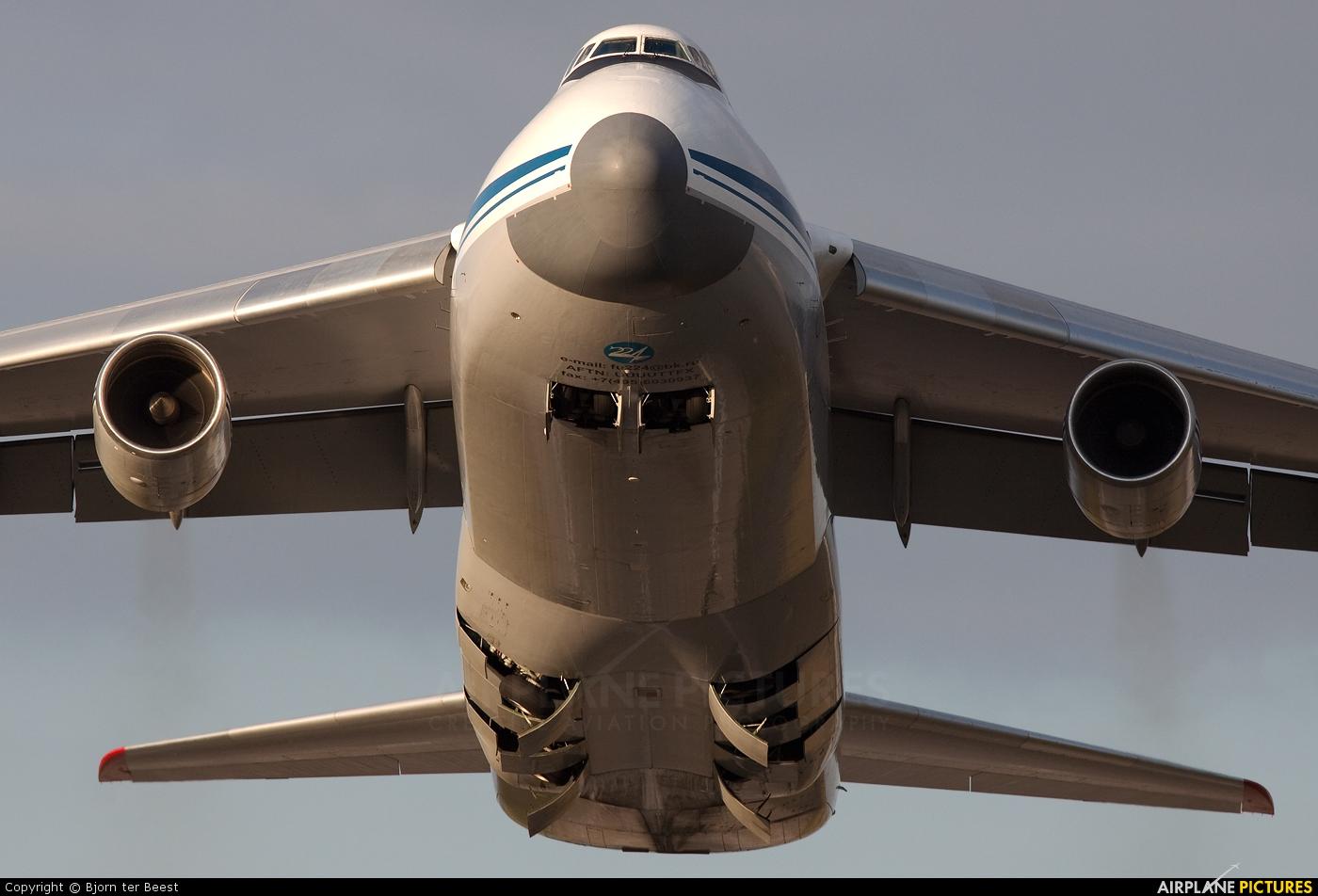 224 Flight Unit RA-82039 aircraft at Düsseldorf