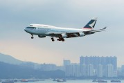 B-HOV - Cathay Pacific Boeing 747-400 aircraft