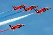 "XX242 - Royal Air Force ""Red Arrows"" British Aerospace Hawk T.1/ 1A aircraft"