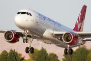N847VA - Virgin America Airbus A320 aircraft