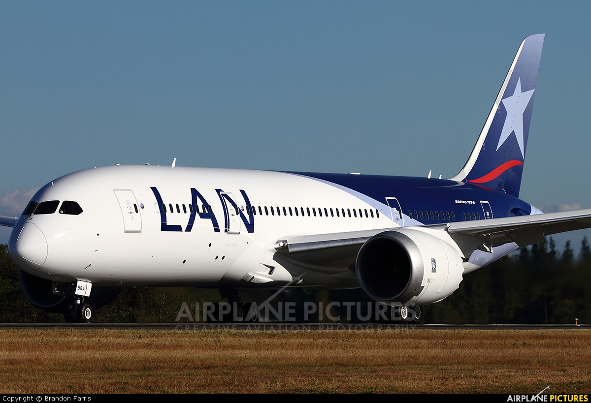 LAN Airlines CC-BBA aircraft at Everett - Snohomish County / Paine Field