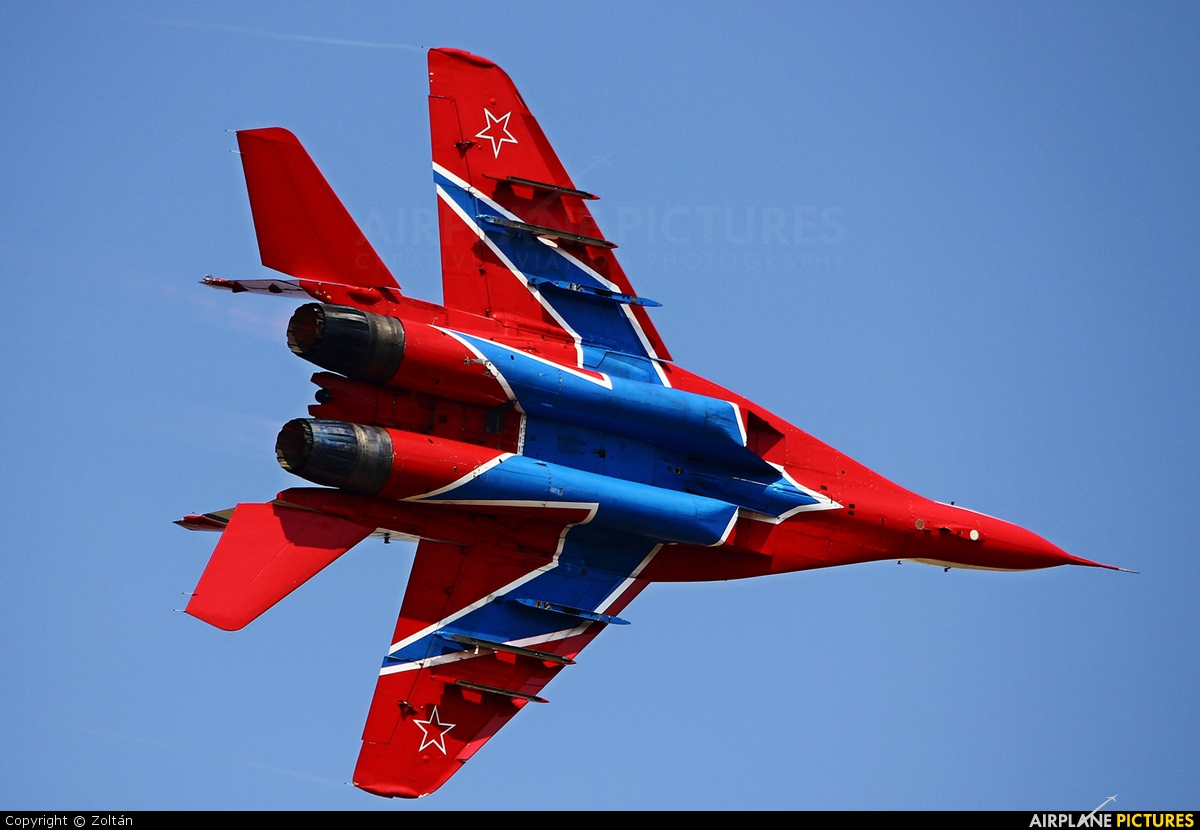 """Russia - Air Force """"Strizhi"""" 05 aircraft at Batajnica"""