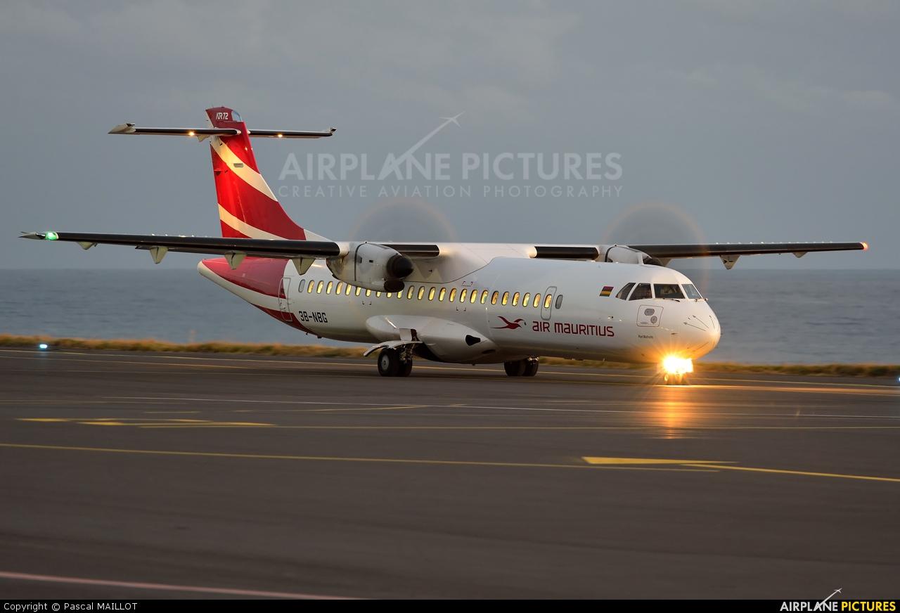 Air Mauritius 3B-NBG aircraft at Saint-Pierre - Pierrefonds