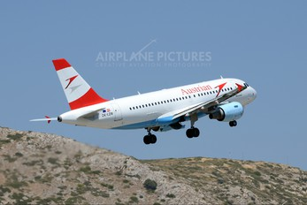 OE-LDB - Austrian Airlines/Arrows/Tyrolean Airbus A319