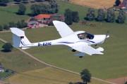 D-EZIC - LSV Grenzland Diamond DA 20 Katana aircraft