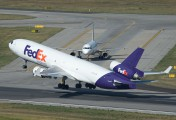 N576FE - FedEx Federal Express McDonnell Douglas MD-11F aircraft