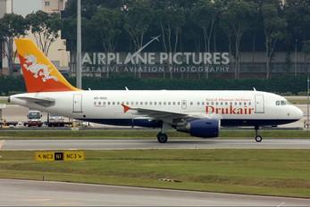 A5-RGG - Drukair - Royal Bhutan Airlines Airbus A319