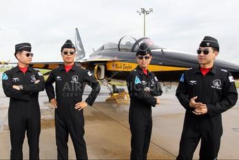 10-0059 - Korea (South) - Air Force: Black Eagles Korean Aerospace T-50 Golden Eagle