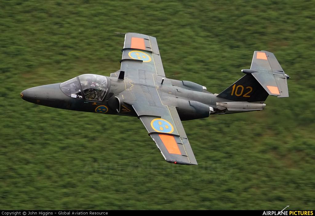 Sweden - Air Force 60102 aircraft at Machynlleth LFA7