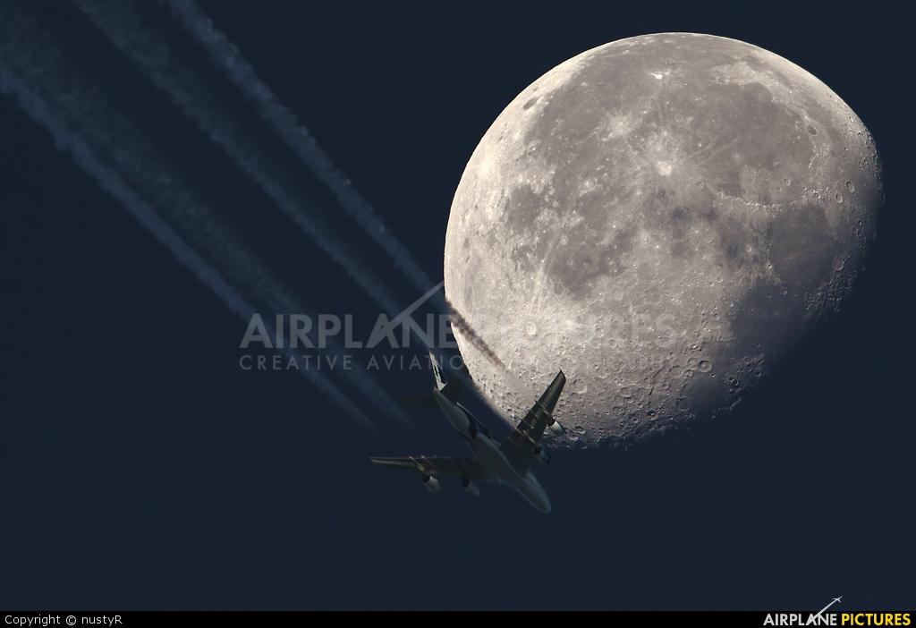 Malaysia Airlines 9M-MNA aircraft at Rotterdam