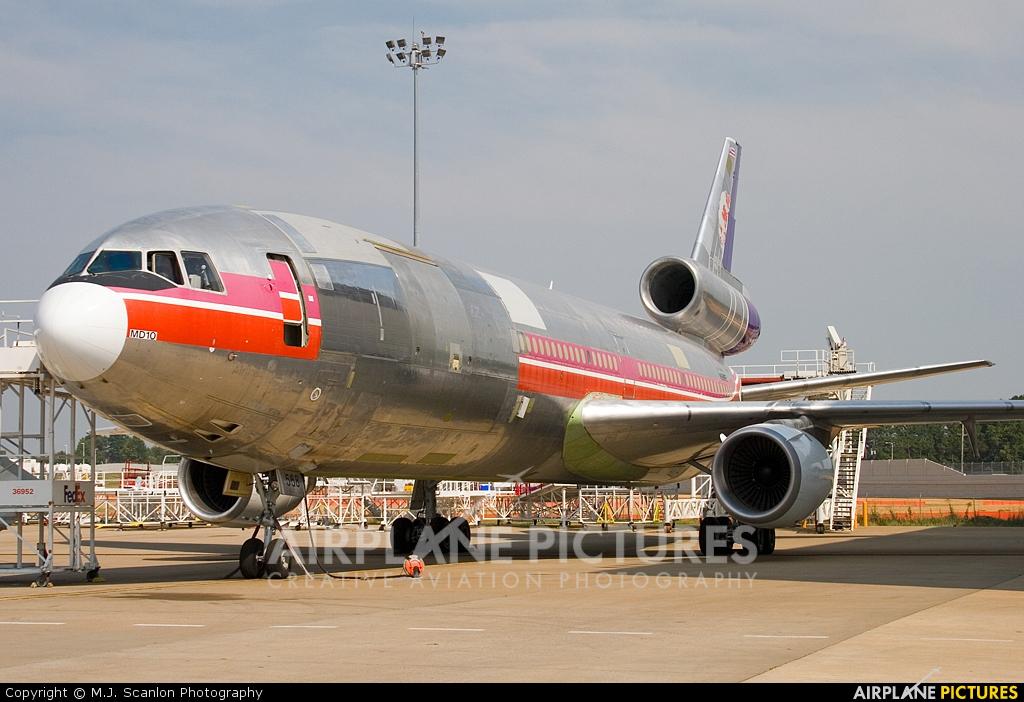 N568FE - FedEx Federal Express McDonnell Douglas MD-10-10F at ...
