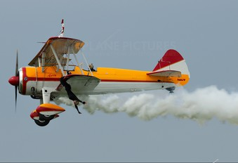 N450JW - Private Boeing Stearman, Kaydet (all models)