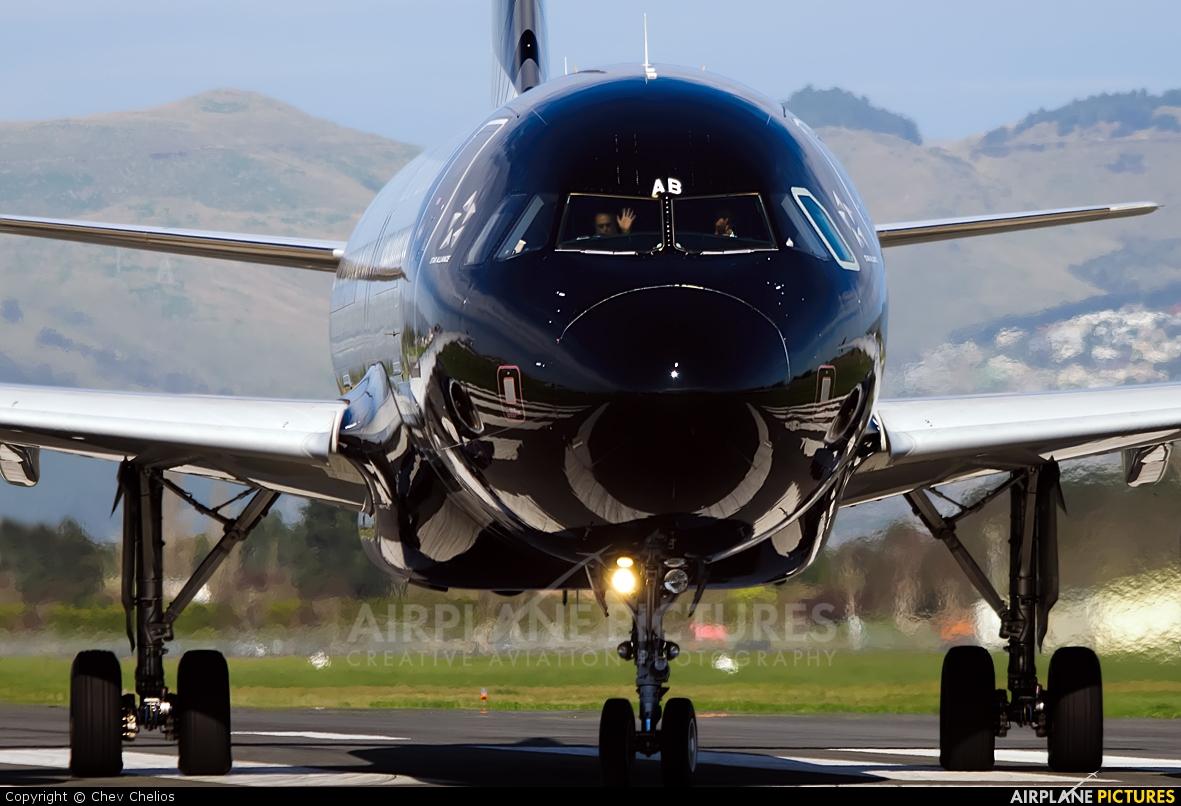 Air New Zealand ZK-OAB aircraft at Christchurch Intl