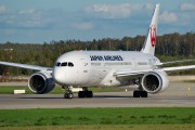 JA822J - JAL - Japan Airlines Boeing 787-8 Dreamliner aircraft