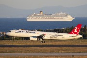TC-JSB - Turkish Airlines Airbus A321 aircraft