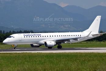D-AEMF - Augsburg Airways - Lufthansa Regional Embraer ERJ-190 (190-100)