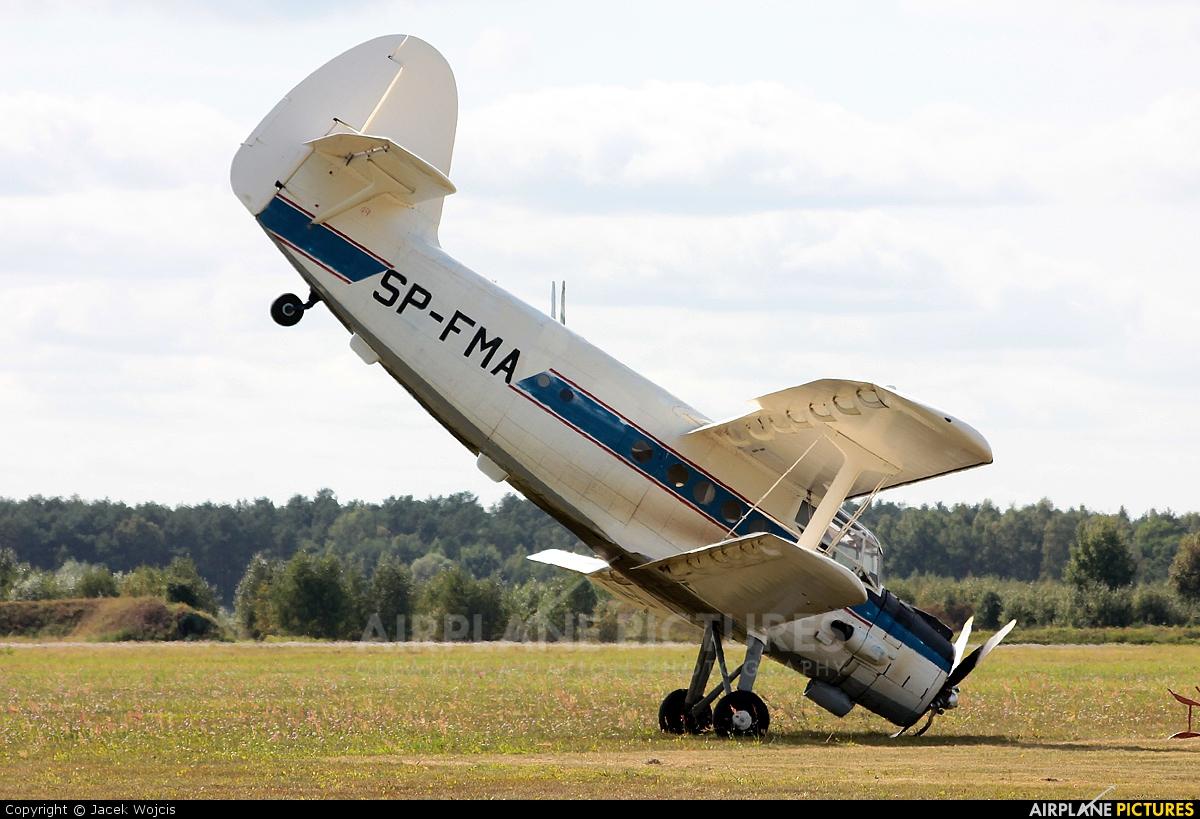 Aeroklub Bydgoski SP-FMA aircraft at Bydgoszcz - Szwederowo