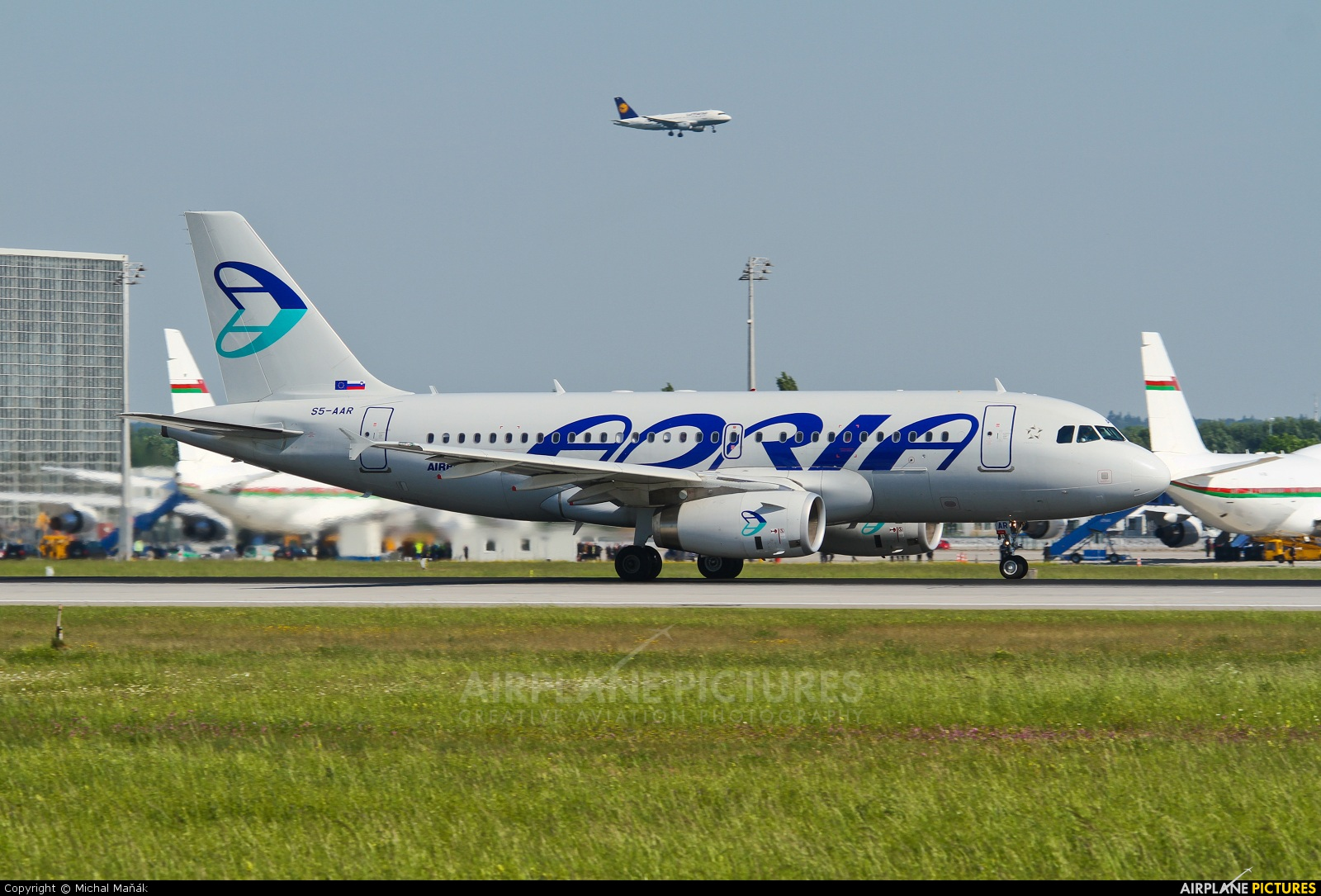 Adria Airways S5-AAR aircraft at Munich