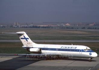 OH-LYG - Finnair Douglas DC-9