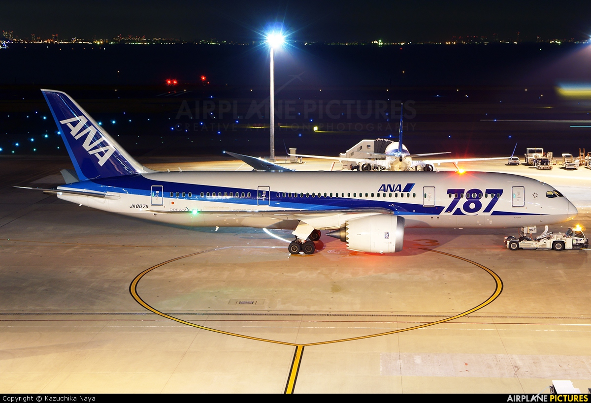 ANA - All Nippon Airways JA807A aircraft at Tokyo - Haneda Intl