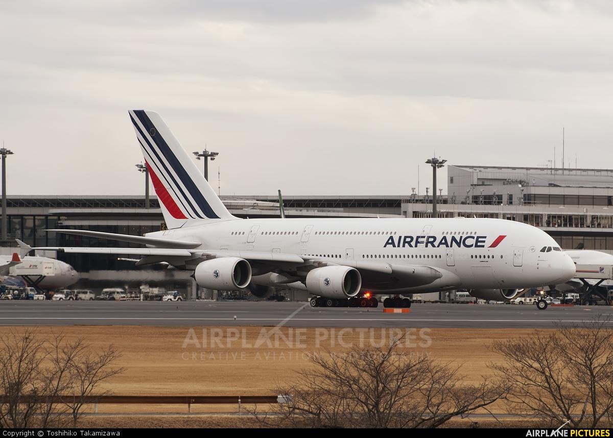 Air France F-HPJF aircraft at Tokyo - Narita Intl