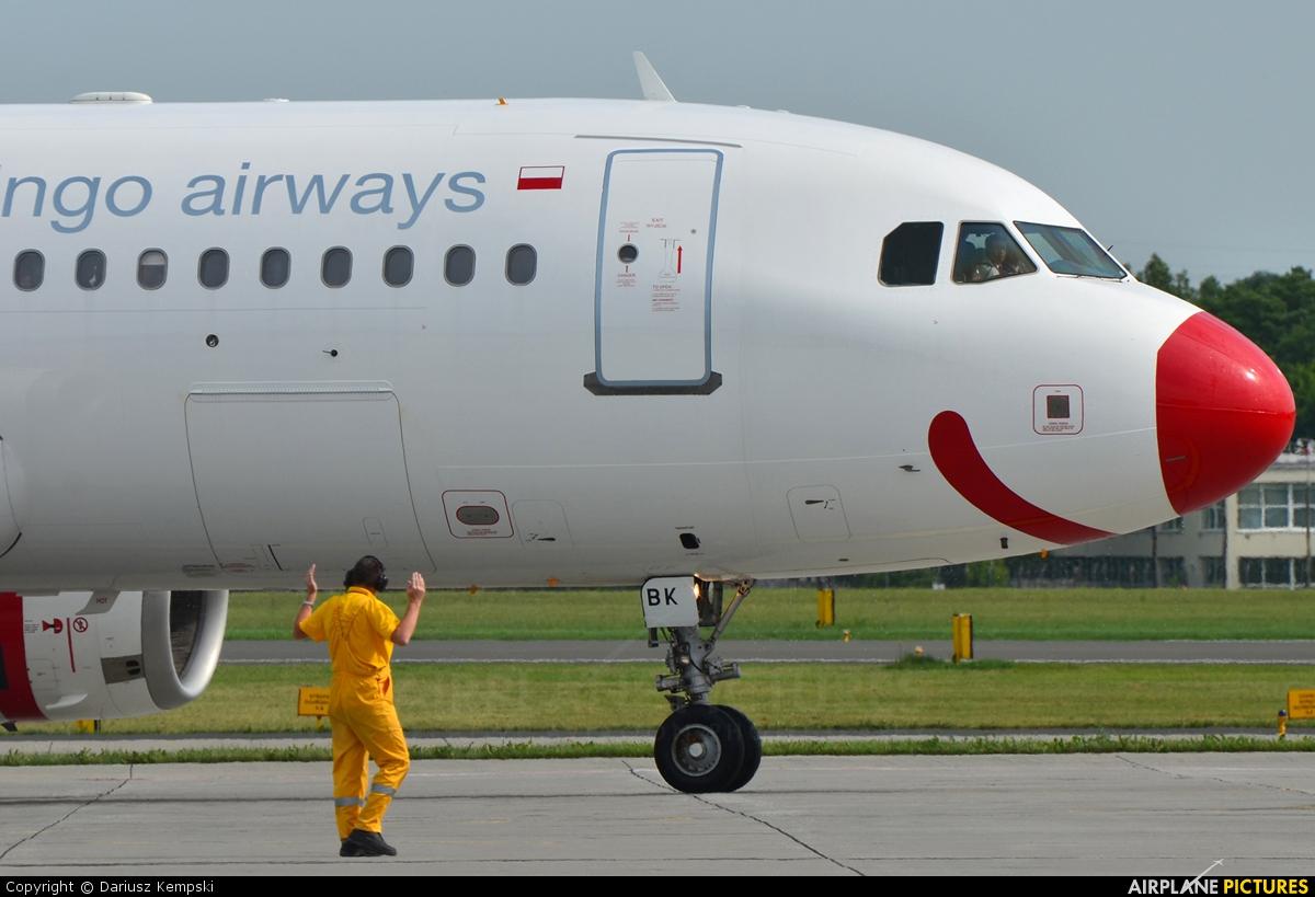 Bingo Airways SP-ABK aircraft at Łódź - Lublinek