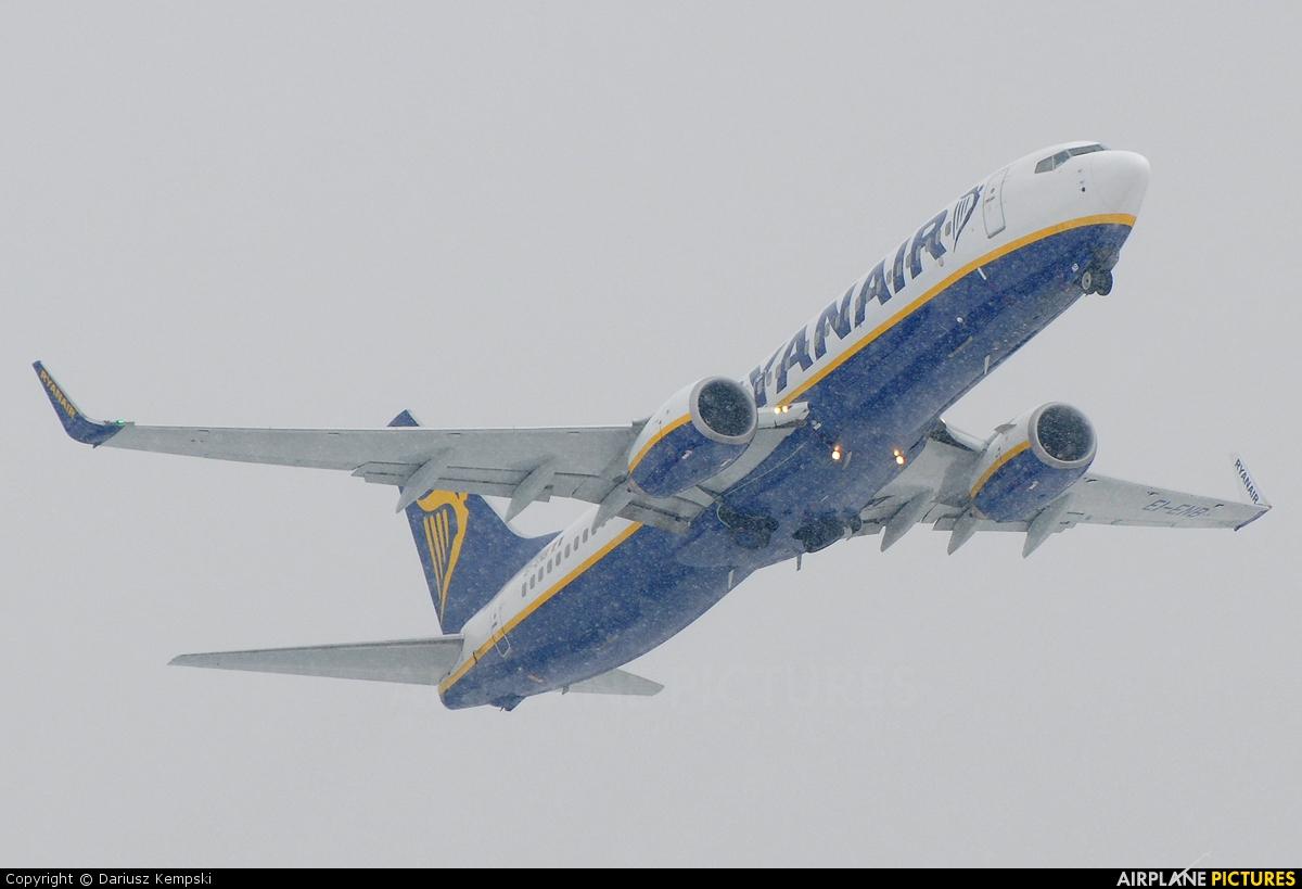 Ryanair EI-ENB aircraft at Łódź - Lublinek