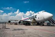 LX-WCV - Cargolux Boeing 747-400F, ERF aircraft