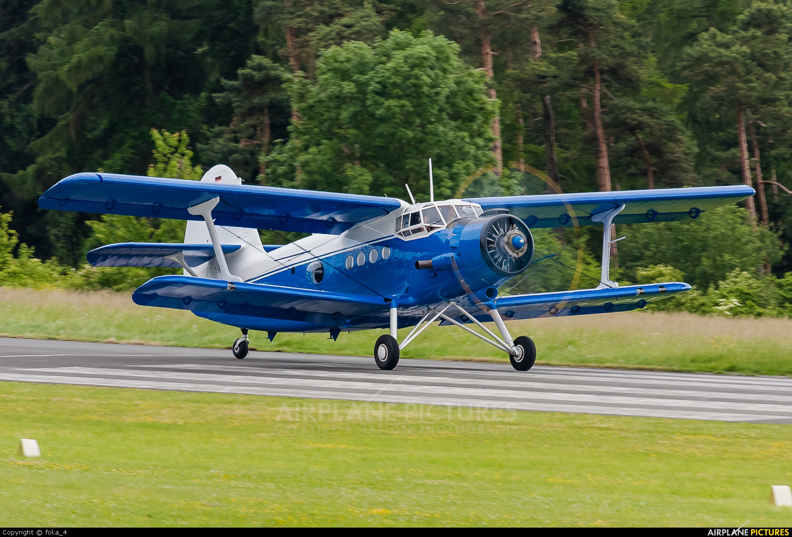 Private D-FOKY aircraft at Höxter - Holzminden