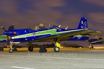 """1358 - Brazil - Air Force """"Esquadrilha da Fumaça"""" Embraer EMB-312 Tucano T-27"""