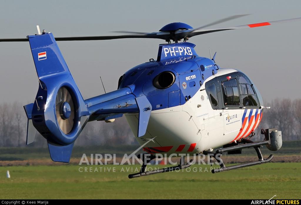 Netherlands - Police PH-PXB aircraft at Middelburg - Midden Zeeland