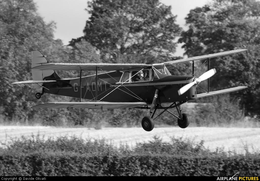 Private G-ADMT aircraft at Old Warden