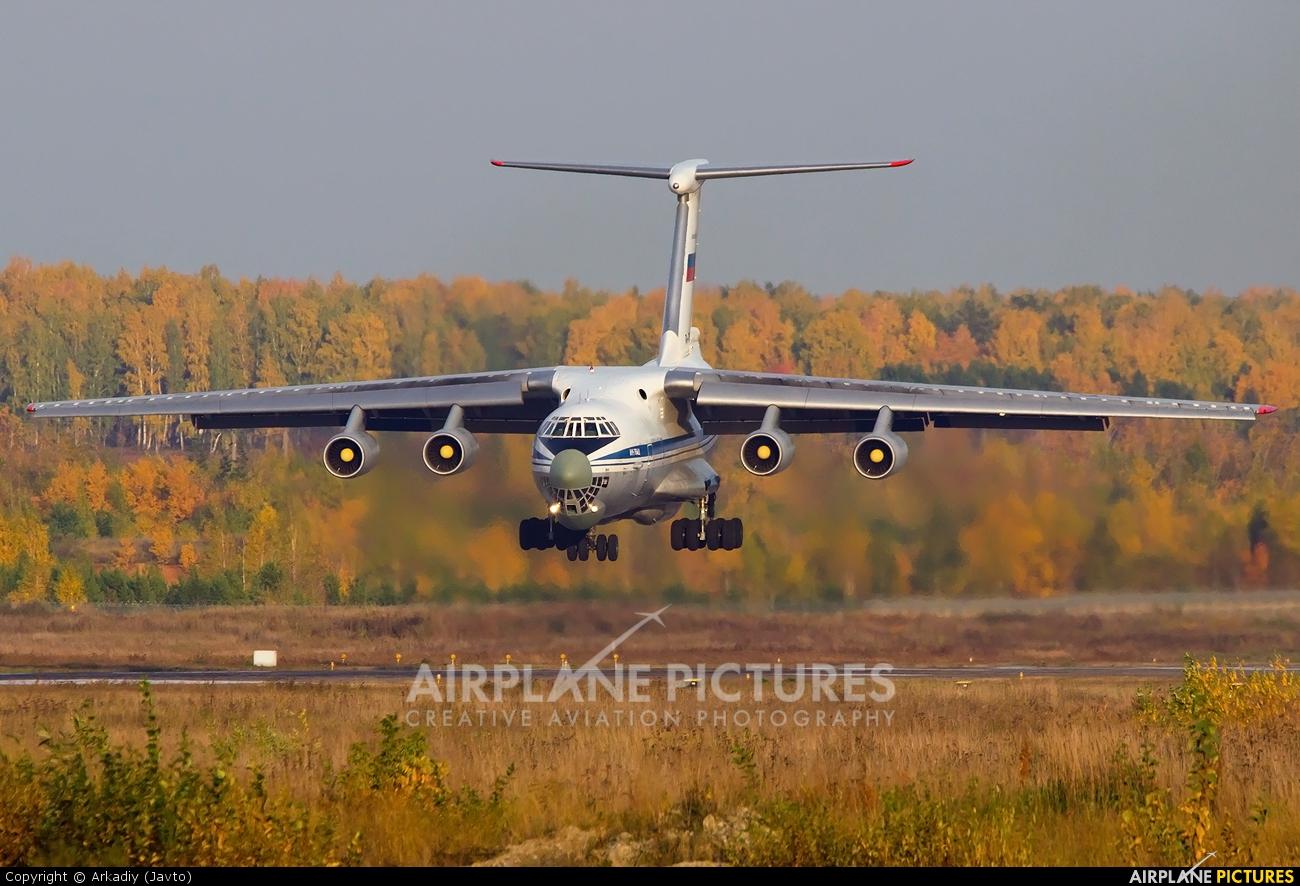Russia - Air Force RA-76592 aircraft at Koltsovo - Ekaterinburg