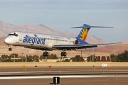 N417NV - Allegiant Air McDonnell Douglas MD-83 aircraft