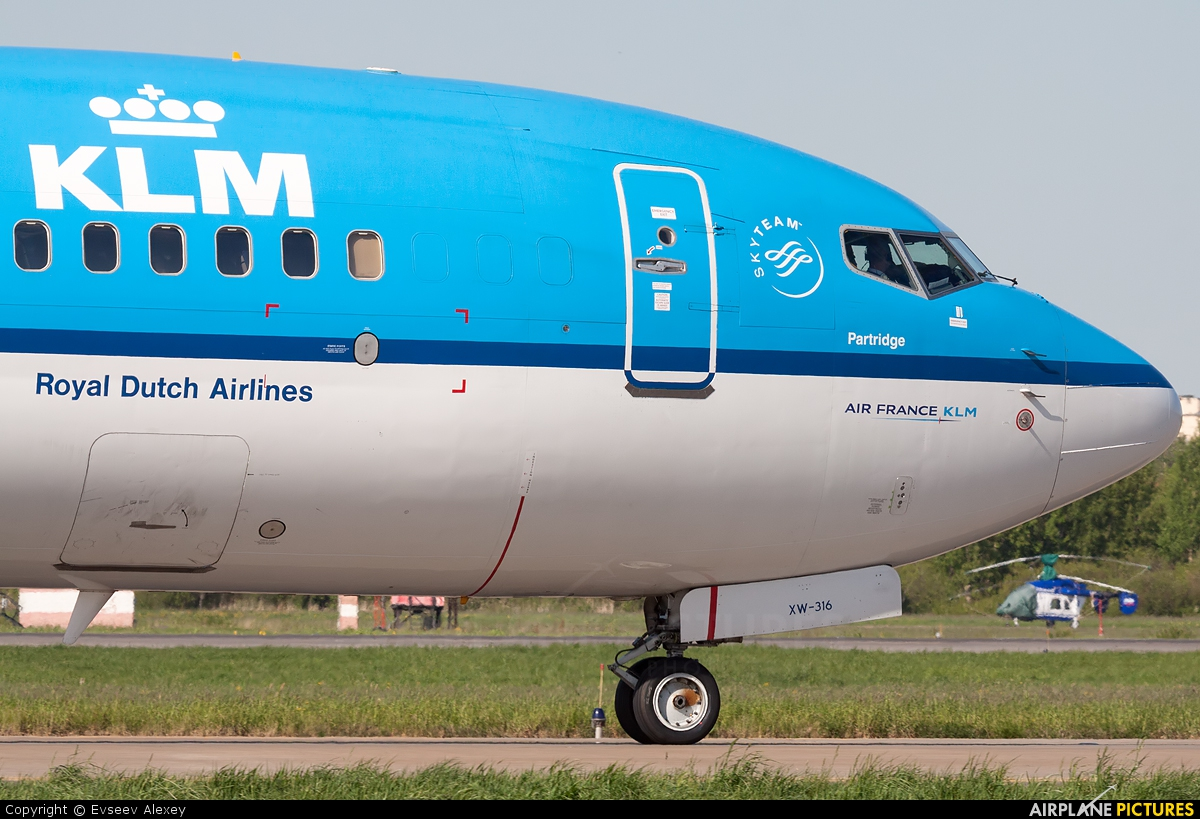 KLM PH-BXW aircraft at St. Petersburg - Pulkovo