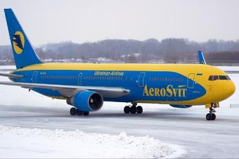 UR-VVV - Aerosvit - Ukrainian Airlines Boeing 767-300ER