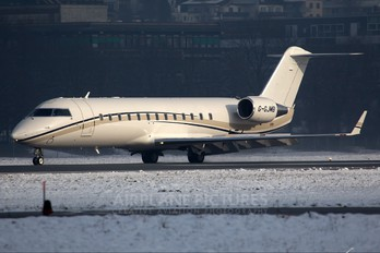 G-GJMB - TAG Aviation Canadair CL-600 Challenger 850