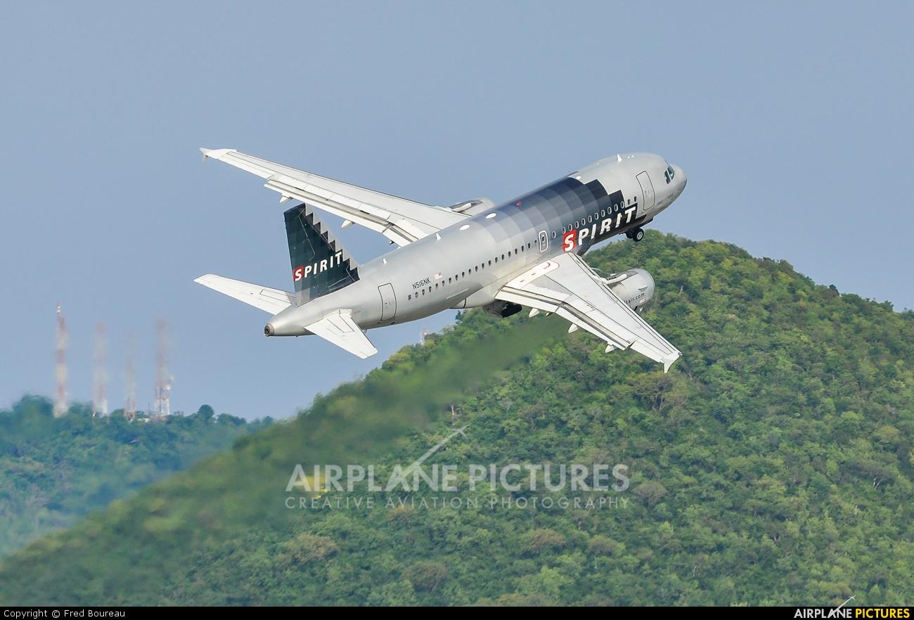 Spirit Airlines N516NK aircraft at Sint Maarten - Princess Juliana Intl