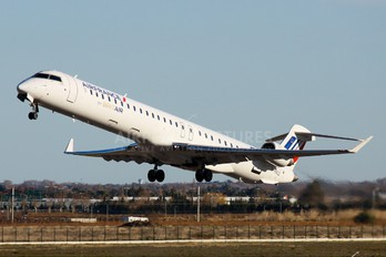 F-HMLE - Air France - Brit Air Canadair CL-600 CRJ-1000