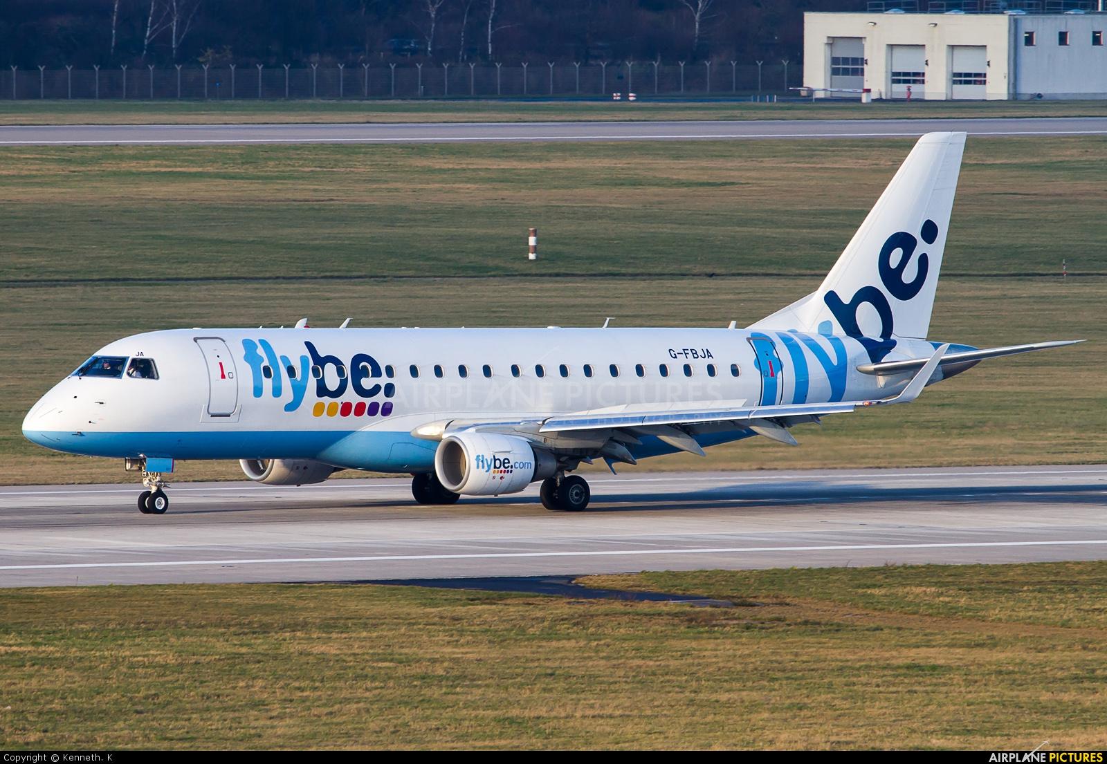G-FBJA - Flybe Embraer ERJ-175 (170-200) at Düsseldorf ... - photo#40