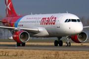 9H-AEK - Air Malta Airbus A320 aircraft