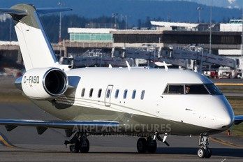 C-FASD - Private Canadair CL-600 Challenger 604