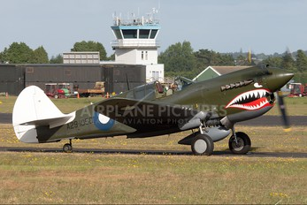 ZK-CAG - Private Curtiss P-40 Kittyhawk IV