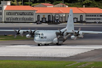 165348 - USA - Navy Lockheed C-130T Hercules